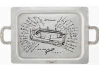1952 New York Giants Presentation Tray FRANK RINO