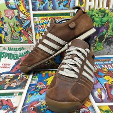 Adidas mens chile 62 trainers size 10 brown suede shoes sneakers eu 44 2/3