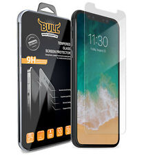 BULL SHOCK Premium Tempered Glass Screen Protector Film for Apple iPhone X | 10