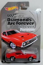 HOT WHEELS JAMES BOND DIAMONDS ARE FOREVER '71 MUSTANG MACH 1 DIE CAST CAR 2 / 5