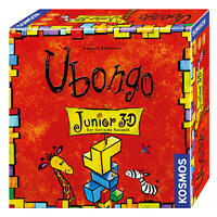 KOSMOS Ubongo Junior 3-D Legespiel Knobelspiel Logik Spiel ab 5 Jahren 697747