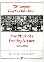 Complete Country Dance Tunes : From Playford's Dancing Master (1651-ca.1728),...