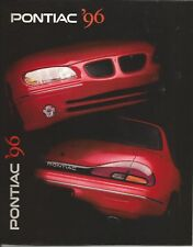 VINTAGE PONTIAC 1996 FIREBIRD SUNFIRE GRAND AM  SALES CATALOG BROCHURE