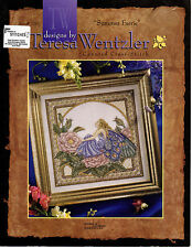 ** COUNTED CROSS STITCH LEAFLET LEISURE ARTS TERESA WENTZLER SUMMER FAERIE