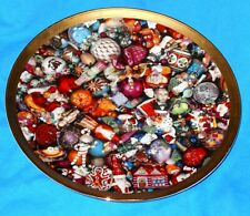 Vtg Christopher Radko Kaleidoscope Limited Ed Christmas Ornaments Platter Plate