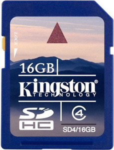 Kingston 16GB SD SDHC Memory Card Stick For Samsung Digimax A502, Digimax A503,
