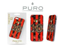 PURO COVER CUSTODIA IPHONE 5 5S SE TEAM MILAN NUMERO 10 COLLEZIONE HAPPINESS