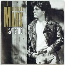 "RICHARD MARX - 7"" - Satisfied +UK  Poster.  EMI USA"