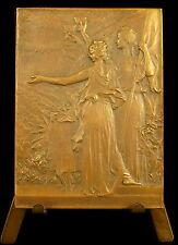 Médaille Banquet des Maires aux Tuileries 1900 Bellengreville L Conseil s Vernon