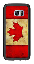 Canada Canadian Flag Grunge For Samsung Galaxy S7 Edge G935 Case Cover by Atomic