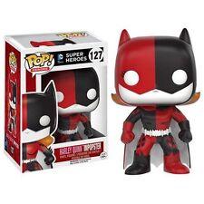 HARLEY QUINN IMPOPSTER vinyl figure. DC Super Heroes 127. POP!. FUNKO.