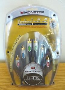 Monster Cable - Component Video Ultra - THX Certified - 8ft / 2.5mtr - MC127073
