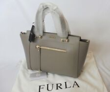 New Authentic $468 Furla Medium Ginerva Sabbia B Satchel Crossbody Leather Bag