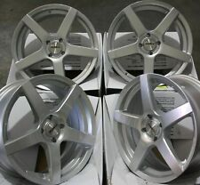 """15"""" SILVER PACE ALLOY WHEELS FIT FORD ECOSPORT PUMA COUGAR MAZDA 2 AUDI 80 4X108"""