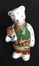 Royal Crown Derby  - Gardener Bear - Paperweight - Figurine