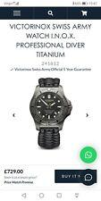 Victorinox inox titanium RRP £729