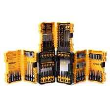 DEWALT 100 PC DRILL / DRIVER BIT SET W/ (4) TOUGH CASES - DWA24CASE2