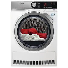 AEG T7DEE835R 8kg Load Freestanding Heat Pump Tumble Dryer in White