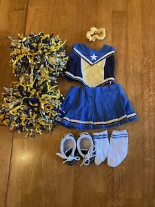 American Girl Doll Cheerleading Outfit