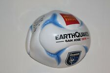 CHRIS WONDOLOWSKI Signed MINI SOCCER BALL SAN JOSE EARTHQUAKES