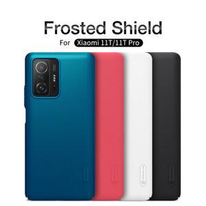 For Xiaomi 11T /11T Pro Case Original Nillkin Slim Matte Hard Back Cover Shield