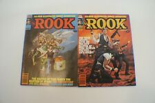 The Rook  #9  #10, Comics, The Warren Magazine 1981