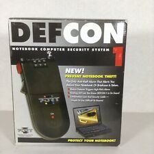 Defcon Computer Notebook Security System High Pitch Alarm LED Light