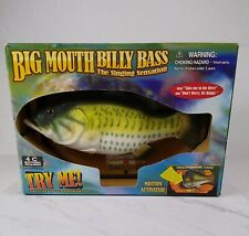 New listing Big Mouth Billy Bass The Singing Sensation New In Box