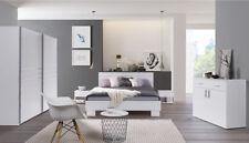 Camera completa Atene NUOVA colore Bianco - armadio ad ante scorrevoli + RETE