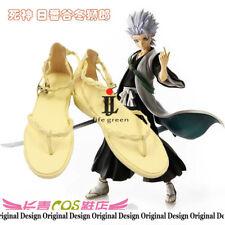 Bleach Hitsugaya Toushirou Boot Party Shoes Cosplay Boots Custom-made