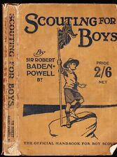 More details for scouting for boys sir robert baden-powell official handbook 30s pb adventure