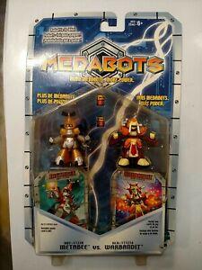 Hasbro 1999 Medbots Metabee Vs Warbandit NQR
