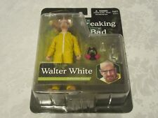 Mezco Breaking Bad Walter White Heisenberg Yellow Hazmat Suit Collectible Figure