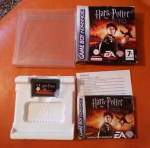 NINTENDO GAME BOY ADVANCE GAME HARRY POTTER GOBLET OF FIRE BOXED INSTRUCTIONS