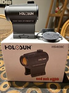 Used Holosun HS403C Solar Power Red Dot Sight