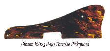 ES-125 Transparent Tortoise P-90 Pickguard & Bracket for Gibson Guitar Project