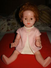 "VINTAGE OLD 1970's UNUSED DOLL SLEEP EYES DOLL 11""  TOY PLASTIC DOLL"
