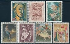 France - Painting Art Stamp Small Lot MNH (1970-72)