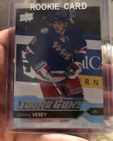 Jimmy Vesey 2016-17 Upper Deck Young Guns RC Rookie Harvard Toronto Maple Leafs