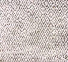 Diamond lin naturel-tissu de coton. prix par 1/2 mètre