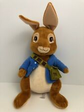 "Peter Rabbit Bunny 17"" Plush Toy Cartwheel Kids (2014)"
