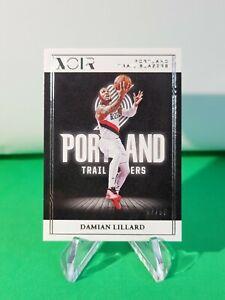 2020-21 Noir Base Association Edition SP /99 #36 Damian Lillard R6220J
