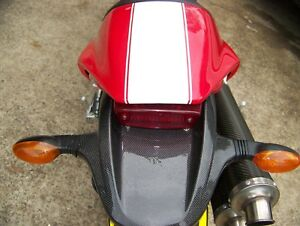 Ducati monster S4 S4R S4RS S2  carbon fibre rear tail  tray