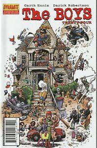 THE BOYS #24 / 1ST G-WIZ G-MEN / ANIMAL HOUSE / ENNIS / ROBERTSON 2008