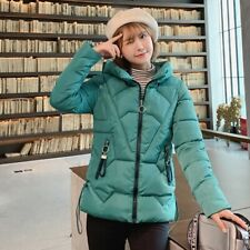 Women Packable Down Jacket Ultralight Stand Collar Coat Winter Hoodie Puffer SS