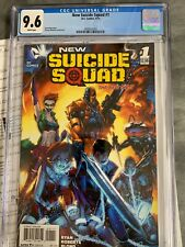 New Suicide Squad #1 DC Comics September 2014 Graded 9.6 by CGC