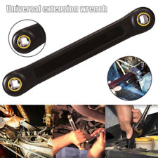 """Universal 1/4"""" & 3/8"""" Extension Wrench Home Car Vehicle Automotive Repair Tools"""