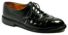 J.M. Weston Mens Shoes Size 9D Split Toe 598 Black