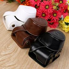 Stylish Camera Bag Case Cover Pouch For Sony A5000 A5100 NEX 3N PU leather