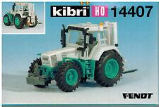 Kibri H0-Bausatz (1:87) 14407 Fendt -Traktor 926 Heckstapler (neu)